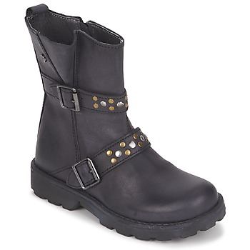 Schoenen Meisjes Laarzen Naturino  Zwart