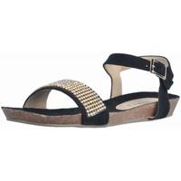 Schoenen Dames Sandalen / Open schoenen Tiziana PETRA Zwart
