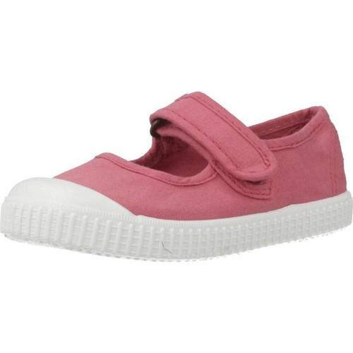 Schoenen Meisjes Lage sneakers Victoria 36605 Roze