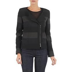 Textiel Dames Jasjes / Blazers Lola VIE DUP Zwart / Grijs