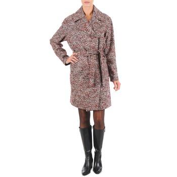 Textiel Dames Mantel jassen Lola MORANDI IPERYON Bordeau