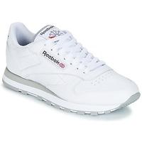Schoenen Lage sneakers Reebok Classic CL LEATHER Wit