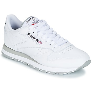 Schoenen Lage sneakers Reebok Classic CL LEATHER Wit