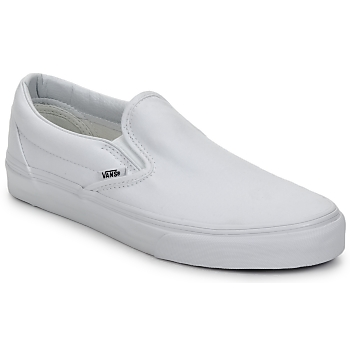 Vans Classic Slip-On Canvas Trainers True White 10