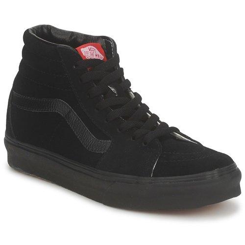 Schoenen Heren Hoge sneakers Vans SK8 HI Zwart / Zwart