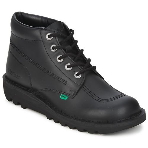 Schoenen Heren Laarzen Kickers KICK HI Zwart