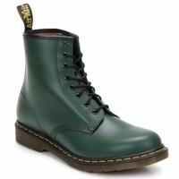 Schoenen Dames Enkellaarzen Dr Martens 1460 8 EYE BOOT Groen