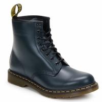 Schoenen Enkellaarzen Dr Martens 1460 8 EYE BOOT Blauw