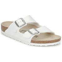 Schoenen Leren slippers Birkenstock ARIZONA Wit