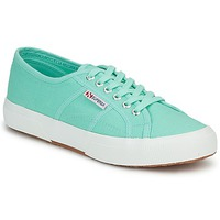 Schoenen Dames Lage sneakers Superga 2750 COTU CLASSIC Pastel / Groen