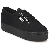Schoenen Dames Sneakers Superga 2790 LINEA Full / Zwart