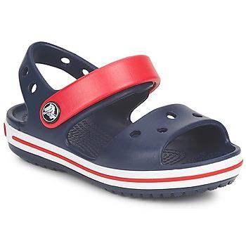 Schoenen Kinderen Sandalen / Open schoenen Crocs CROCBAND SANDAL Marine / Rood