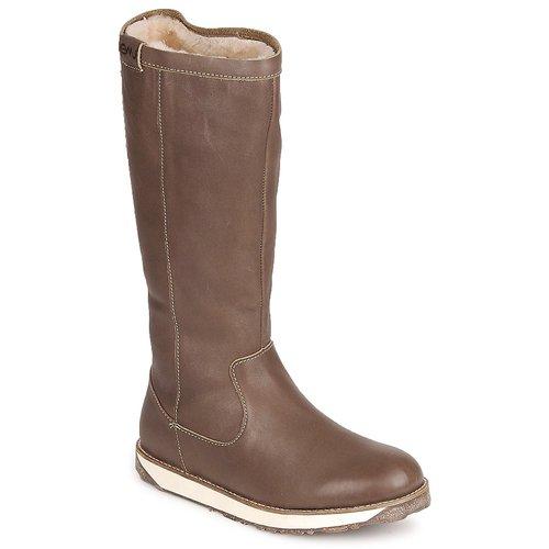 Schoenen Dames Laarzen EMU LEEVILLE Bruin