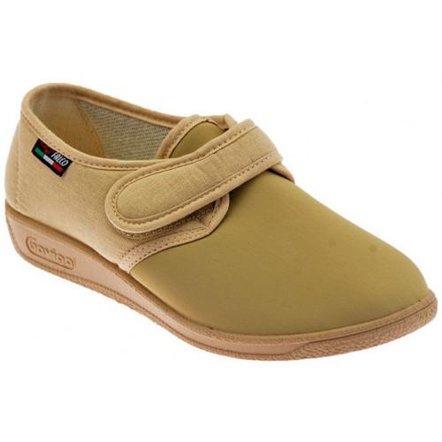 Schoenen Dames Sloffen Gaviga  Beige