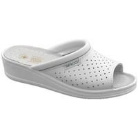 Schoenen Heren Leren slippers Sanital  Wit
