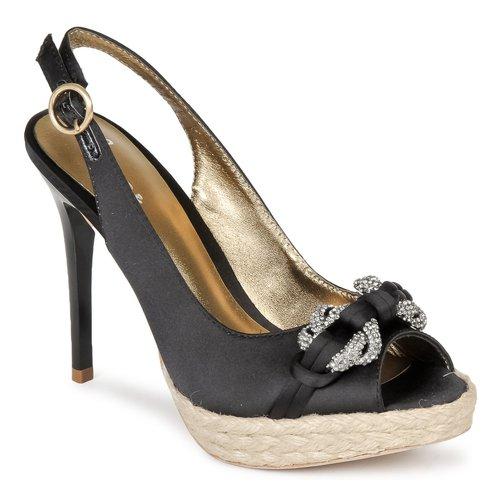 Schoenen Dames Sandalen / Open schoenen Bourne VERITY Zwart