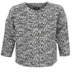Textiel Dames Jasjes / Blazers Mexx MX3002331 Zwart / Wit