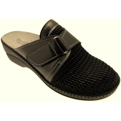 Schoenen Dames Leren slippers Piedallegro PIEH39g grigio