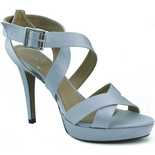 Schoenen Dames Sandalen / Open schoenen Marian DE FIESTA CON TIRAS Y HEBILLA PLATA