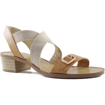 Schoenen Dames Sandalen / Open schoenen MTNG MUSTANG VACHE CUADRADO CUERO