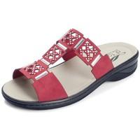 Schoenen Dames Leren slippers Dtorres IZAN S PLANTILLAS S ROJO