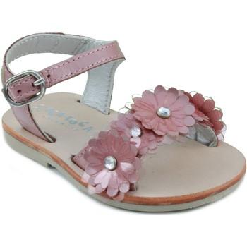 Schoenen Kinderen Sandalen / Open schoenen Oca Loca OCA LOCA  CHAROL PINK