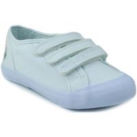 Schoenen Kinderen Lage sneakers Le Coq Sportif SAINT MALO PS STRAP BLANCO