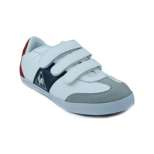 Schoenen Kinderen Lage sneakers Le Coq Sportif MEXICO PS STRAP BLANCO