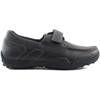 Schoenen Kinderen Lage sneakers Geox JW SNAKEN COLEGIAL MARRON