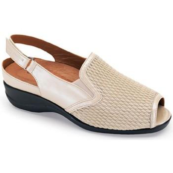Schoenen Dames Sandalen / Open schoenen Calzamedi PALA ELASTICA BEIGE