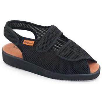 Schoenen Dames Sandalen / Open schoenen Calzamedi DOMESTICO DE TELA NEGRO