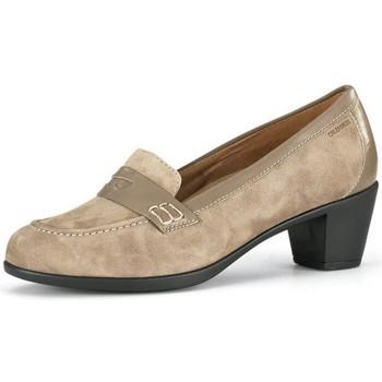 Schoenen Dames pumps Calzamedi MOCASIN BEIGE