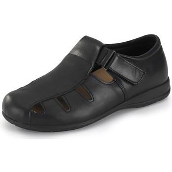 Schoenen Sandalen / Open schoenen Calzamedi ZWART WIJD 15 SANDAL NEGRO