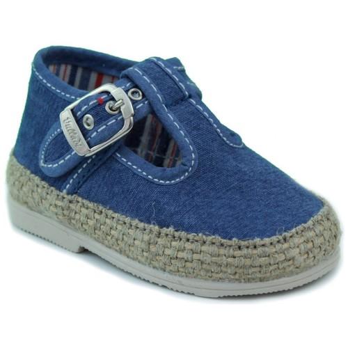 Schoenen Kinderen Babyslofjes Vulladi CANVAS CHICO AZUL