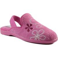 Schoenen Kinderen Sloffen Vulladi CHICA IR POR CASA CON GOMA ROSA