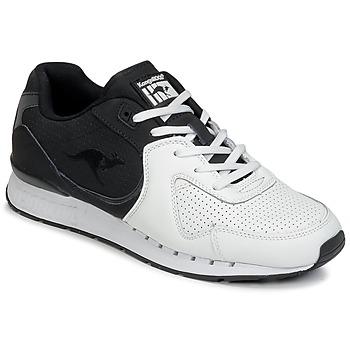 Schoenen Heren Lage sneakers Kangaroos COIL-R2 TONE Wit / Zwart