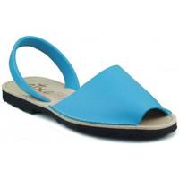 Schoenen Leren slippers Arantxa MENORQUINA LEDER CELESTE