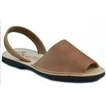 Schoenen Leren slippers Arantxa MENORQUINA DE MARRON