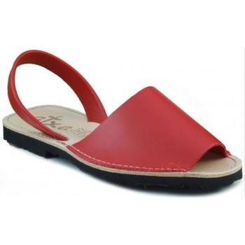 Schoenen Leren slippers Arantxa MENORQUINA LEDER RED