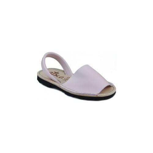 Schoenen Leren slippers Arantxa MENORQUINA LEDER ROSA