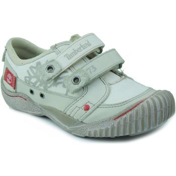 Schoenen Jongens Lage sneakers Timberland KIDS BONE RED BLANCO