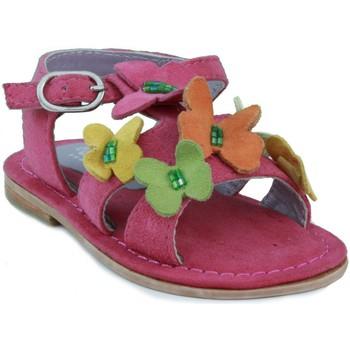 Schoenen Meisjes Sandalen / Open schoenen Oca Loca OCA LOCA  ANTE AD MARIPOSA FUXIA