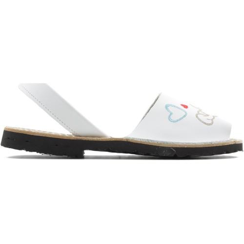 Schoenen Meisjes Sandalen / Open schoenen Arantxa MENORQUINA PERRO BLANCO