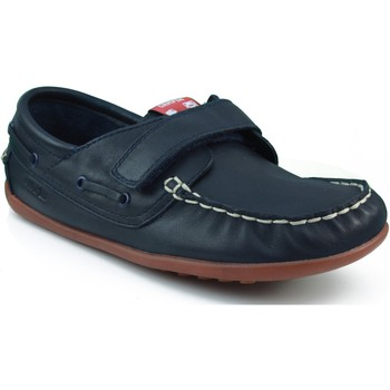 Schoenen Jongens Bootschoenen Camper CAMPER S KRYPTON DENIM WAY HONEY MARINO