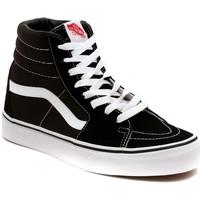 Schoenen Hoge sneakers Vans SK8 HI BLACK Zilver
