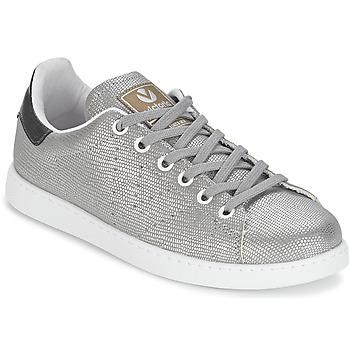 Schoenen Dames Lage sneakers Victoria DEPORTIVO BASKET TEJIDO FANT Zilver