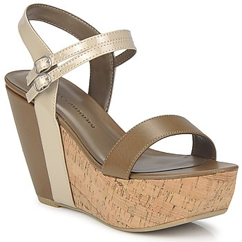Schoenen Dames Sandalen / Open schoenen Chinese Laundry GO GETTER Taupe / Beige