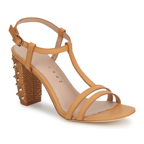 Schoenen Dames pumps Lola Cruz STUDDED Beige / Tan