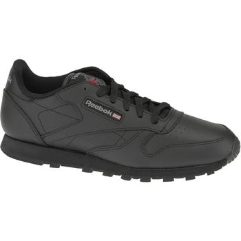 Schoenen Jongens Lage sneakers Reebok Sport Classic Leather Noir