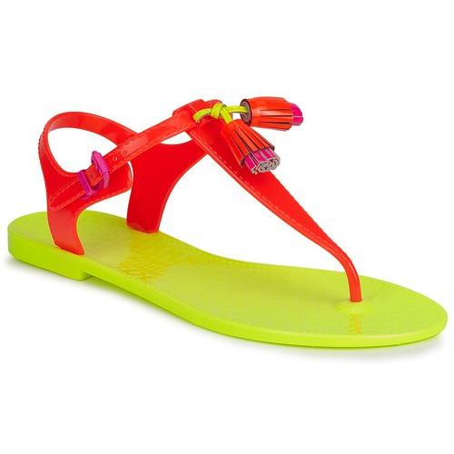 Schoenen Dames Sandalen / Open schoenen Juicy Couture WISP Neon / Oranje